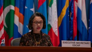 Photo of the ESCAP Executive Secretary