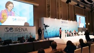 Executive Secretary Promotes Renewable Energy Cooperation at 10th IRENA General Assembly