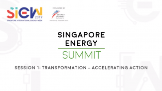 Cover page of Singapore Energy Summit