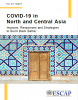 Cover for the policy brief on COVID-19 in North and Central Asia