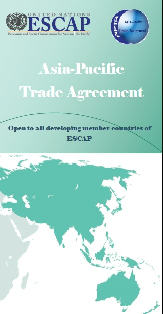 Brochure Of The Asia Pacific Trade Agreement United Nations Escap