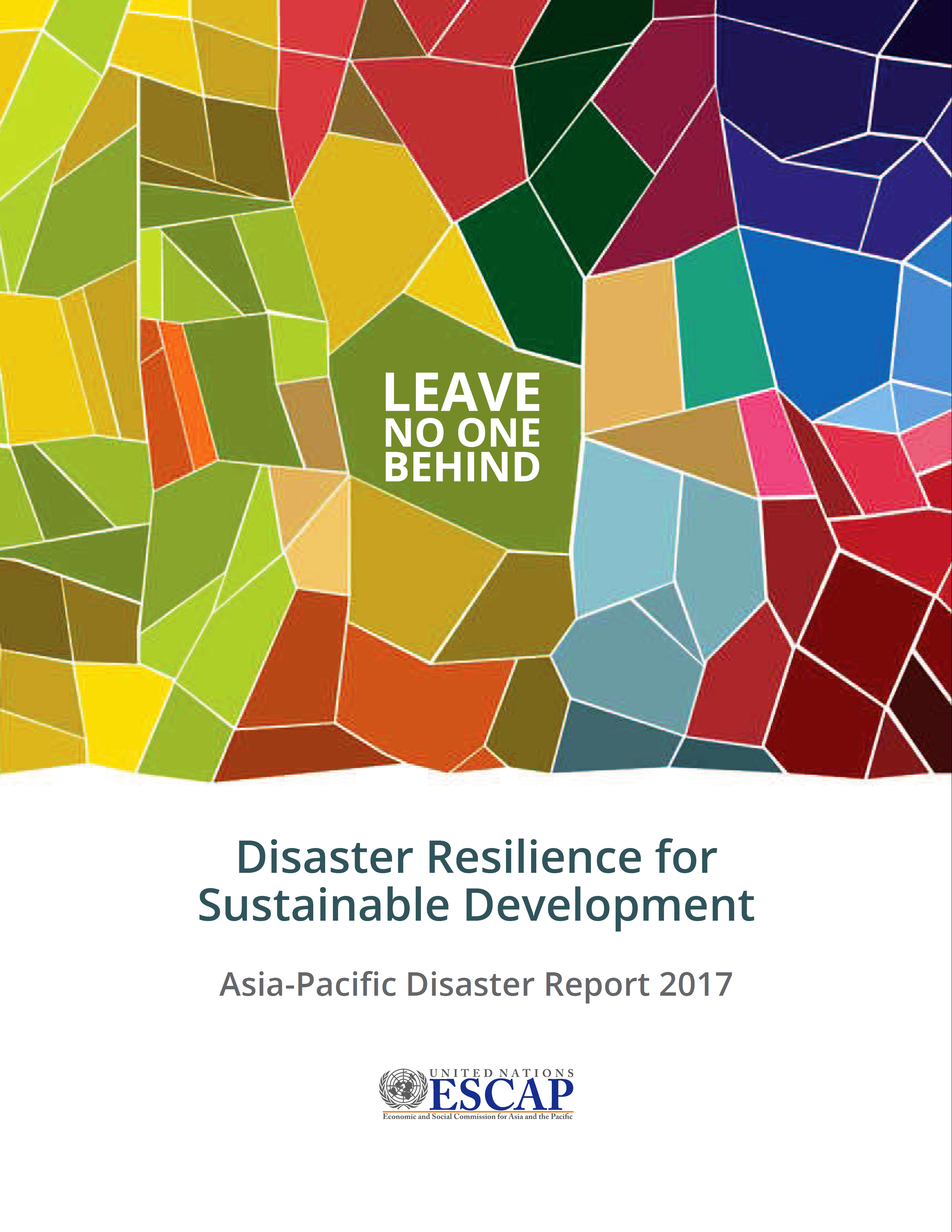 Asia and the Pacific is the region most affected by natural disasters which  hit hardest at the poorest countries and communities. And on present  trends, ...